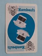 ROMBOUTS ( Harten 6 ) - ( Details - Zie Foto´s Voor En Achter ) !! - Cartes à Jouer Classiques