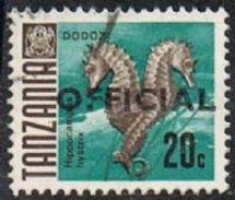 Tanzania SG O35 1973 Official 20c Good/fine Used [20/18961/2D] - Tanzania (1964-...)