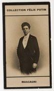 Collection Felix Potin - 1898 - REAL PHOTO - Mascagni, Compositeur De Musique - Félix Potin