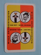 WIEZE OKTOBERFEESTEN Van Roy Wieze Belgium ( Harten 7 ) - ( Details - Zie Foto´s Voor En Achter ) !! - Cartes à Jouer Classiques
