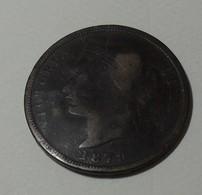 1879 - Chypre - Cyprus - 1 PIASTRE, VICTORIA, KM 3.1 - Chypre