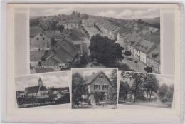 AK - Bayern - ESCHENBERG I. Opf. - Straßenpartie Ortszentrum - Restaurant Am Obersee 30er - Neustadt Waldnaab