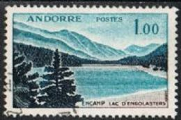 Andorra (French POs) SG F180 1961 Definitive 1f Good/fine Used [20/18898/6D]
