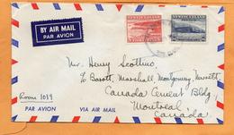 Newfoulndland 1947 Cover Mailed - 1908-1947