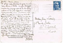 O.MEC FRANKERS- SECAP DE RENNES SUR CPSM - Marcophilie (Lettres)