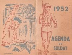 1952 AGENDA DU SOLDAT ARMEE FRANCAISE OCCUPATION ALLEMAGNE INDOCHINE AFN - Documents