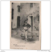 COSTP0605CPA-LFTMP1539TCMER.Tarjeta De España,VENDEDOR DE PESCADO,boquerones,chanquetes,tipico De MALAGA.EL CENACHERO. - Mercaderes