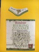 4024 - Bündner Riesling Sylvaner  1986 Suisse - Musique
