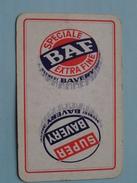 Speciale BAF Extra Fine Super BAVERY Brewery Belgium ( Ruiten Boer ) - ( Details - Zie Foto´s Voor En Achter ) !! - Barajas De Naipe