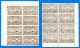 ARMENIE -1921/22 -N++ -Bloc De 8 En C De F- Dentelé Et Non Dentelé Du 25000 R.(brun) Cat Yvert N°118  Tres Bon état (1)
