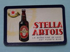 STELLA ARTOIS Het Fijnste Bier / La Bière Fine De Luxe ( Schoppen 10 ) - ( Details - Zie Foto´s Voor En Achter ) !! - Barajas De Naipe