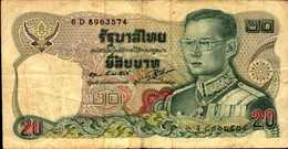 THAILANDE 20 BAHT De 1981nd  Pick 88 - Thaïlande