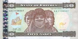 Eritrea  50 Nakfa 1997 Pick 5 UNC - Eritrea