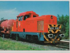 Train Railway Station Bahn Bahnhof Hungary Bataszek MAV Post Card Postkarte Karte 6726 POSTCARD - Trains