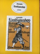 4036 - Appenzeller Landsgemendwy 1990 Riesling Sylvaner Suisse - Militaire