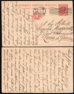 Italy -WW1, Cartolina Postale (Mi. P41), BOLOGNA 31.5.1917 - Zona Di Guerra. - Ganzsachen