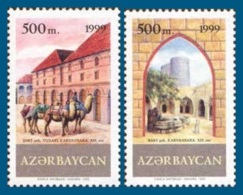 Azerbaïjan 1999 Mih. 458/59 Silk Road MNH ** - Aserbaidschan