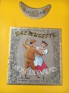 4039 - Bal Musette 1987 Rosé Du Valais  Suisse - Muziek & Instrumenten