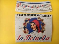 4040 - Grappa Nostrana Ticinese La Ticinella  Suisse - Musique