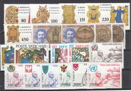Vaticano - 1980 - Complete Year Set ** - Annate Complete