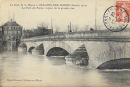 Châlons Sur Marne - Crue De La Marne 1910 - Pont De Marne - Châlons-sur-Marne