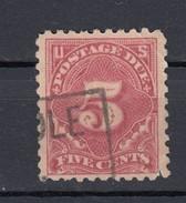 USA Porto 5 C Ziffer 1910 - Gestempelt - Gebraucht