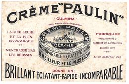 BUVARD - CREME PAULIN - P. Paulin Tanneur à SAINT CLAUDE - Chaussures