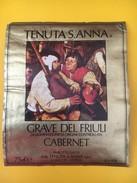 4055 -  Tenuta S.Anna Grave Del Friuli Cabernet Italie - Musique