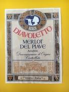 4056 -  Diavoletto 1974 Merlot Del Piave Amabile Italie - Musique