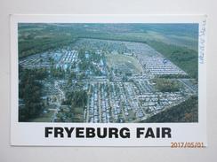 Postcard Fryeburg Fair Maine The  West Oxford Agricultural Society Aerial View Farm Farming Interest My Ref B21236 - Agriculture