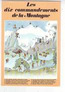 LES DIX COMMANDEMENTS DE LA MONTAGNE . ALPINISME . SAMIVEL . 168 Mm X 118 Mm - Mountaineering, Alpinism