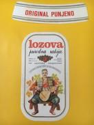 4061 - Lozova Prirodna Rakija Costume National De Cetinje Montenegro - Musique