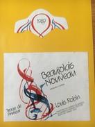4062 - Beaujolais Nouveau 1989Tirage De Primeur Louis Robin - Beaujolais