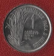 BRASIL 1 CENTAVO 1975 FAO KM# 585 ALIMENTOS PARA O MUNDO - Brésil