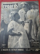 Regards N°179 21 Janvier 1949 Congrès Du Rassemblement Démocratique Africain à Abidjan - Livres, BD, Revues