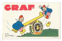 GRAF - Crème De Gruyère Aux Fleurs Du Jura - Illustrateur Joé Bridge -   -   L 1 - Werbepostkarten