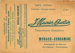 MONACO - 010517A - LA CONDAMINE - J MEUNIER BURDIN Fabrication Et Fournitures D'articles Pour Dentistes - La Condamine