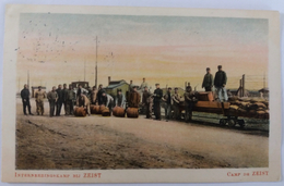 Het Militaire Treintje Le Petit Train Militaire Camp De Zeist Kamp Bij Zeist 1916 - Guerre 1914-18