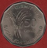 FIJI 50 CENTS 1879 GIRMIT 1979 FAO KM# 44 SUGAR FOR THE WORLD - Fidji