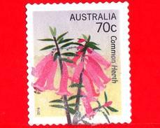 AUSTRALIA  - Usato - 2014 - Fiori - Flowers - Emblemi Floreali - Common Heath - 70 - 2010-... Elizabeth II