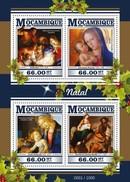 MOZAMBIQUE 2015 SHEET CHRISTMAS NAVIDAD NOEL NATAL Moz15421a - Mozambique