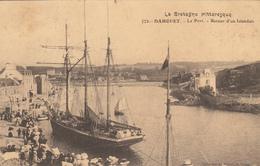 PLENEUF (22) DAHOUET - LE PORT - RETOUR D'UN ISLANDAIS (bateau) - Pléneuf-Val-André