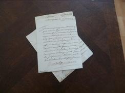 3 LAS Roquelaure Maréchal à Villevielle Darling Montpellier 1719 Rupture Et Déclaration De Guerre Avec L'Espagne - Documentos Históricos