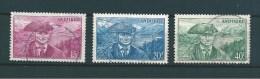 Andorre Timbre De 1944/46  N°114/15 + 117 Oblitérés - Oblitérés