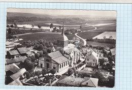 CPSM -  En Avion Au Dessus De...  POGNY - 1. L'église - édition Lapie - Other Municipalities