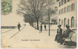 SUISSE - NEUCHATEL - Quai Osterwald - NE Neuchâtel