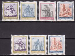 YUGOSLAVIA 1994. Definitive, MNH (**), Mi 2670/73 A, C - Ungebraucht