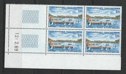 """FR Coins Datés YT 1585 """" La Trinité Sur Mer """" Neuf** Du 12.2.69 - 1960-1969"""