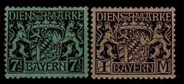 Bayern Dienstmarken Mi 18; 24 * [010517IX] - Bavaria