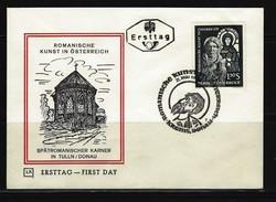 ÖSTERREICH - FDC Mi-Nr. 1151 Romanische Kunst In Österreich Stempel KREMS (25) - FDC